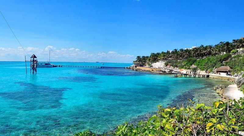 Ocean view for isla mujeres